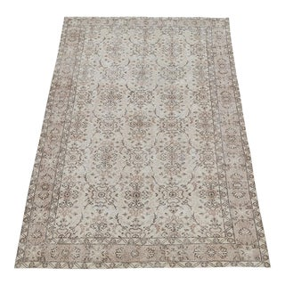 "Vintage Turkish Hand-Knotted Rug - 9'5""x5'5"" For Sale"