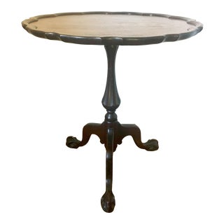 Georgian Style Mahogany Tilt Top Pie Crust Table For Sale