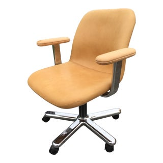 1960s Vintage Niels Diffrient Knoll International Executive Arm Chair For Sale