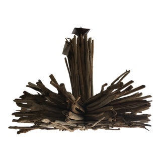 Bleu Nature Large Driftwood Chandelier