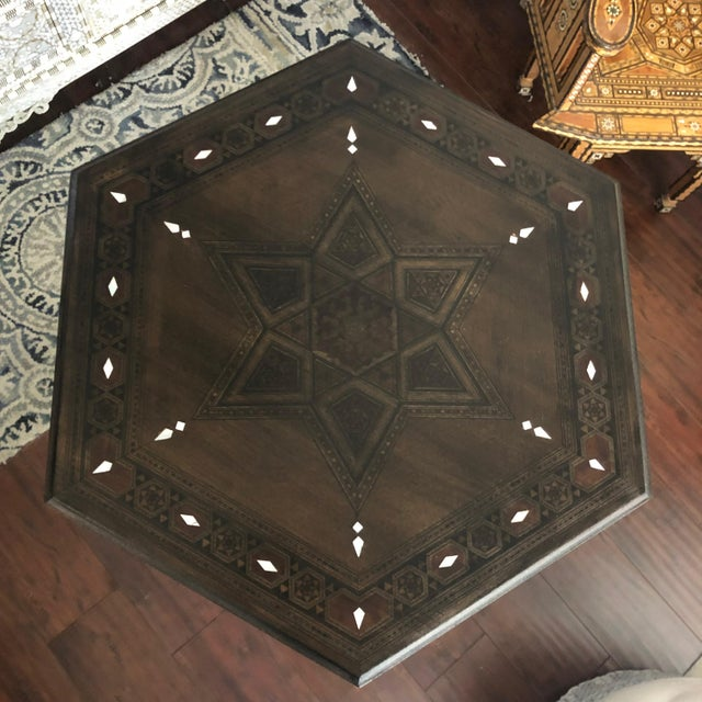 1980s Gothic Parquetry Candle Stands - a Pair For Sale In Los Angeles - Image 6 of 9