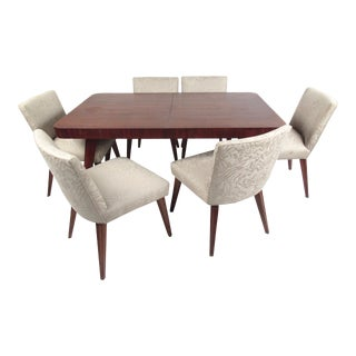 Vladimir Kagan Style Sculptural Dining Set For Sale