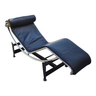 Le Corbusier Cassina Lc4 Lounge Chair For Sale