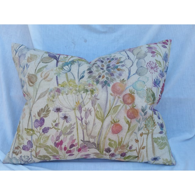Linen Seed Head Pillow - Image 2 of 7