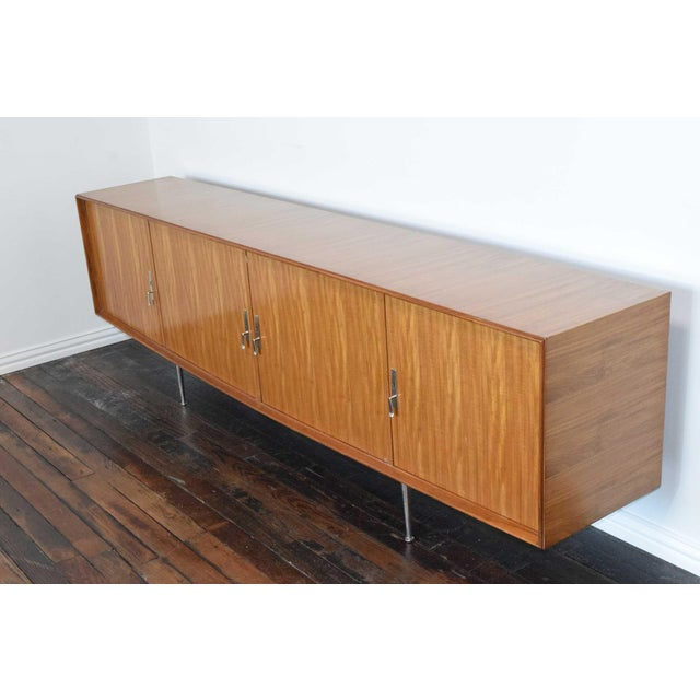 1960s African Mahogany Sideboard For Sale - Image 4 of 12