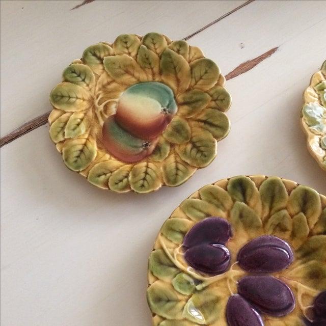 French Sarreguemines Majolica Plates - Set of 5 - Image 3 of 11