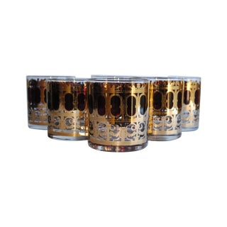 Vintage Culver Glasses - Set of 6 For Sale