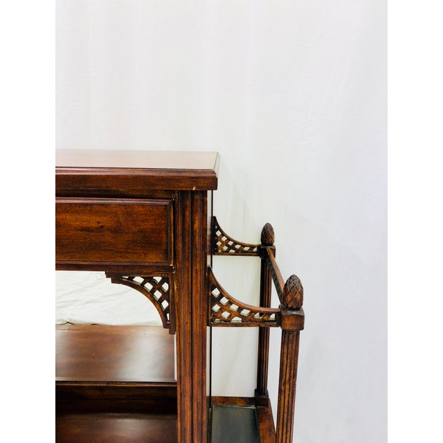 Vintage Entry Way Table For Sale - Image 11 of 12