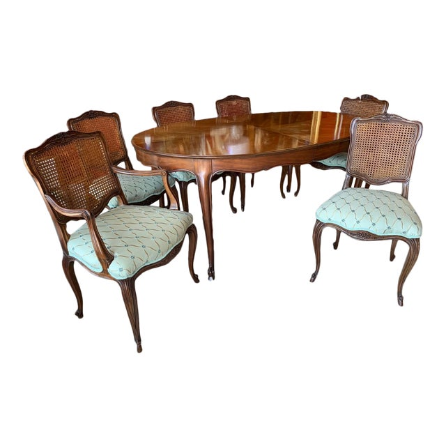 Kindel Borghese Dining Set - 7 Pieces For Sale