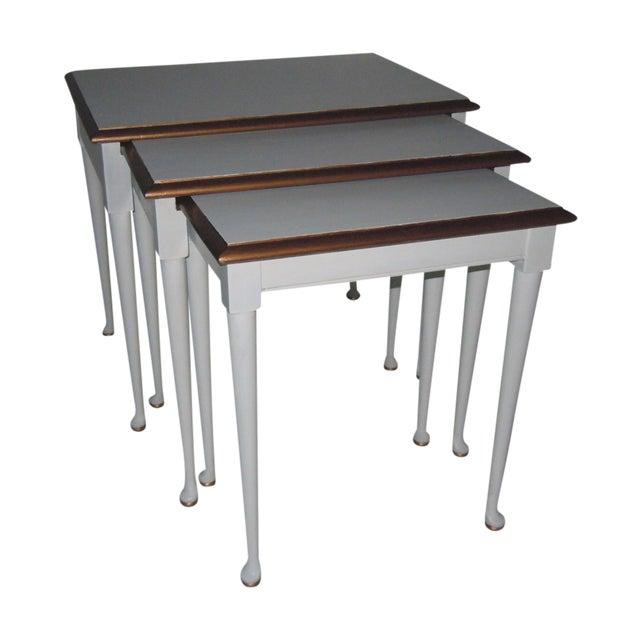 Mid-Century Nesting Tables - Set of 3 - Image 1 of 7