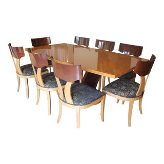 Martin Perri Contemporary Dining Table Set For Sale