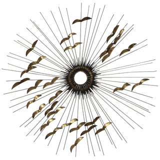 1960s Modern Wall Sculpture by Degroot For Sale