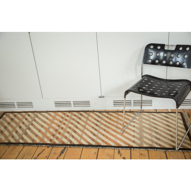 "Boho Chic Vintage Gabbeh Rug - 2'1"" X 6'7"" For Sale - Image 3 of 7"