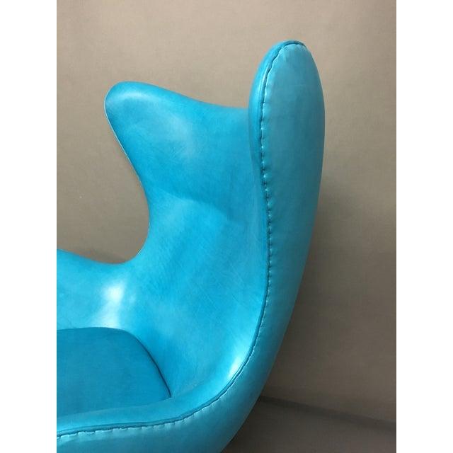 Fritz Hansen Arne Jacobsen Egg Chair For Sale - Image 5 of 7