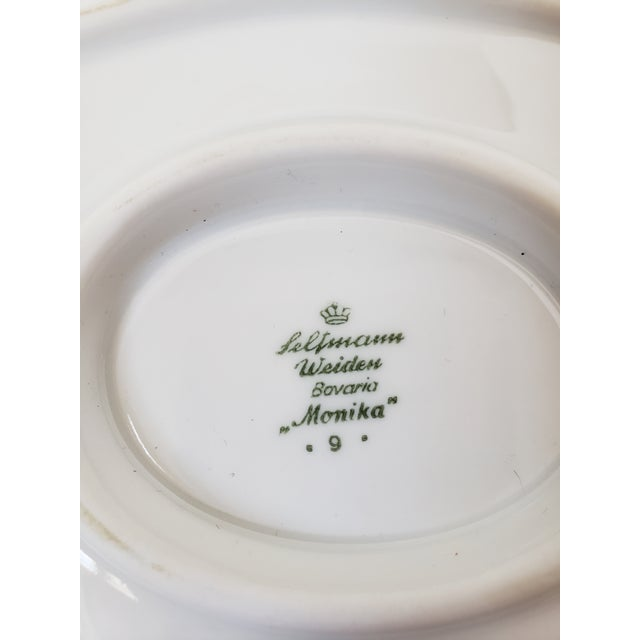 Mid Century Modern Seltmann Weiden Monica Bavarian Porcelain Dinnerware For Sale - Image 12 of 13