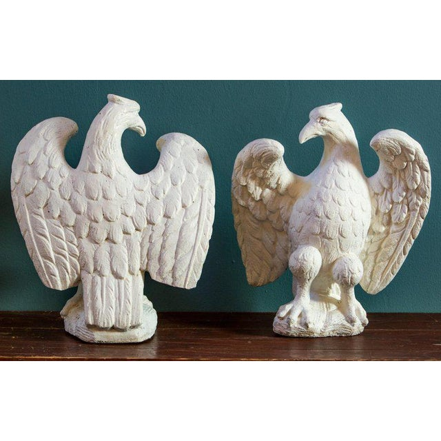 Wonderful Pair of Classic Eagles For Sale - Image 4 of 5