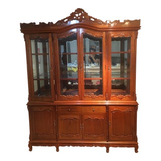 Rosewood China Display Cabinet