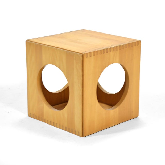 Jens Quistgaard Cube End Tables by Richard Nissen For Sale - Image 10 of 11