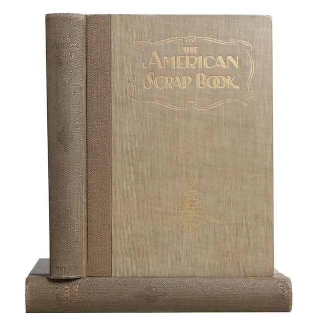 "1928 ""The American Scrap Book, 2 Vols"" Coffee Table Book For Sale In Atlanta - Image 6 of 6"