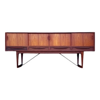 Danish Mid Century Modern Console or Credenza by Kurt Ostervig For Sale