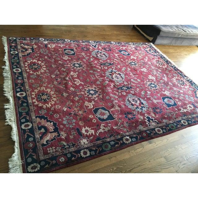 Handmade Persian Rug - 7′7″ × 9′10″ - Image 8 of 9