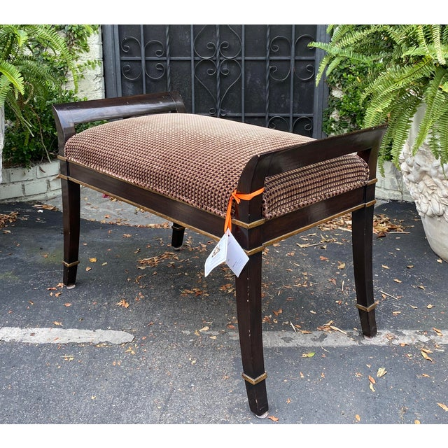 2000 - 2009 Sutton Place Designer Bench by Randy Esada Designs for Prospr For Sale - Image 5 of 5