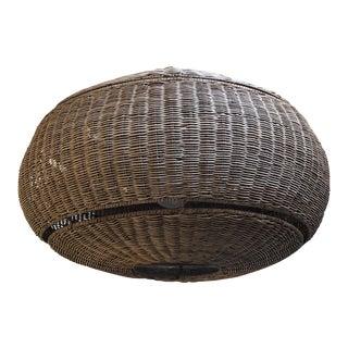 Woven Wicker Pendant