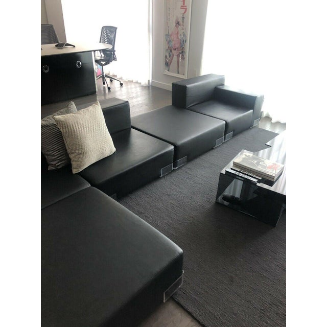 Modern Kartell Plastic Modular Sectional Sofa- 5 Pieces