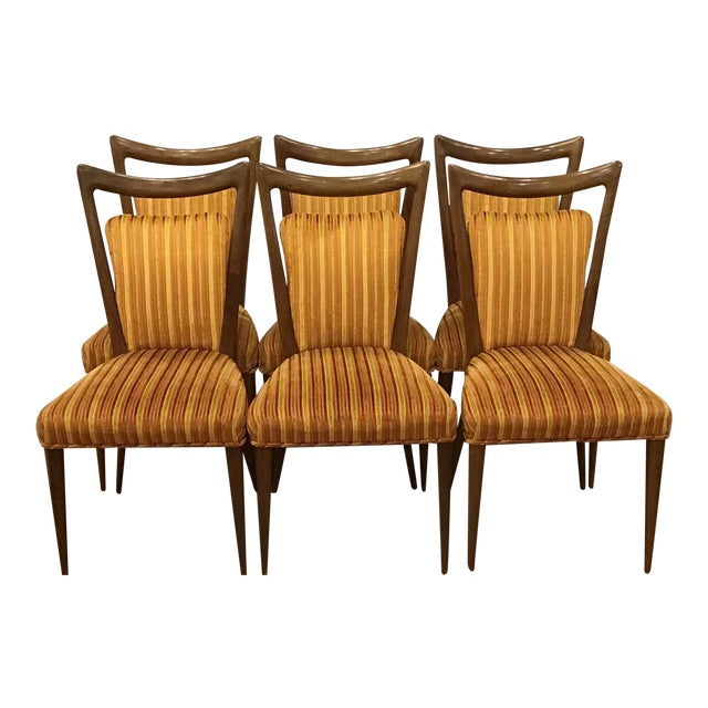 1950's Mid-Century Erno Fabry Dining Chairs- Set of 6 For Sale