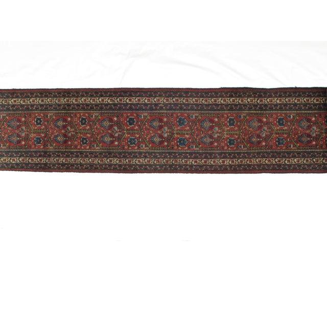 Leon Banilivi Antique Tabriz Rug - 2′4″ × 13′8″ For Sale - Image 4 of 6