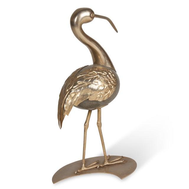 Brass Standing Ibis Sculpture - Image 5 of 7
