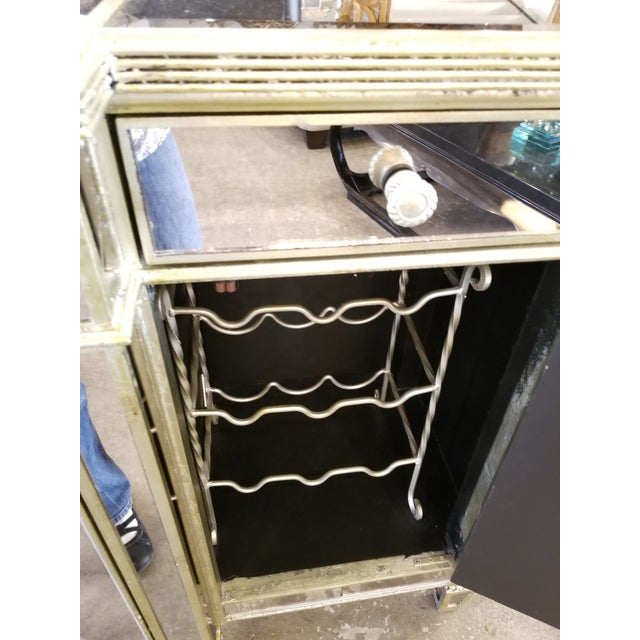 Z-Gallerie Borghese Mirrored Buffet For Sale In Los Angeles - Image 6 of 10