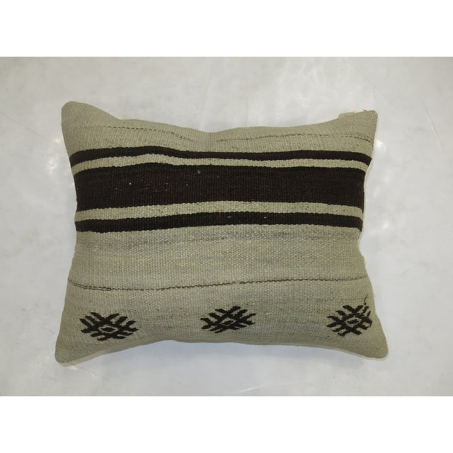 Contemporary Vintage Turkish Kilim Pillow For Sale - Image 3 of 3