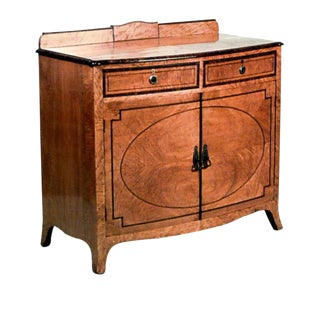 English Adam Style 19th Century Commode For Sale