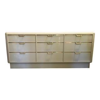 Lacquered Art Deco Dresser by White Furniture Co For Sale