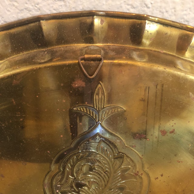 Brass Tray For Sale - Image 4 of 5