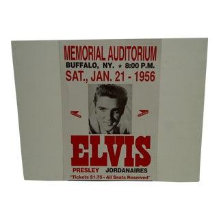 Reprint Elvis in Concert Poster For Sale