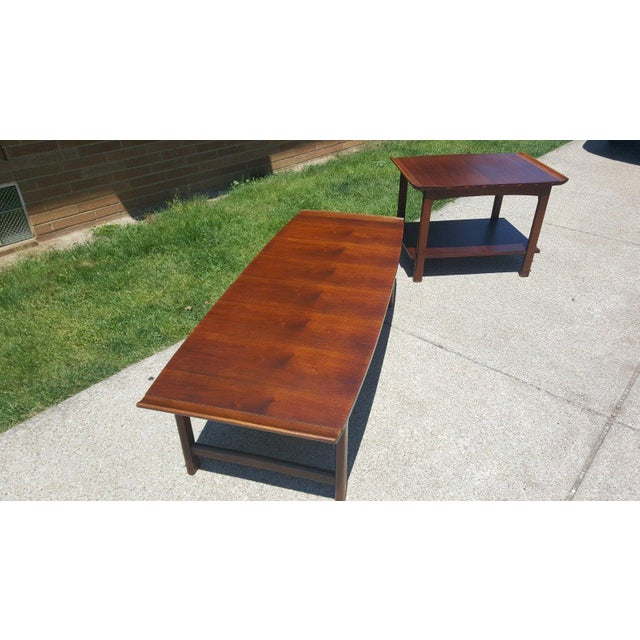 Danish Modern Lane Surfboard Coffee Table