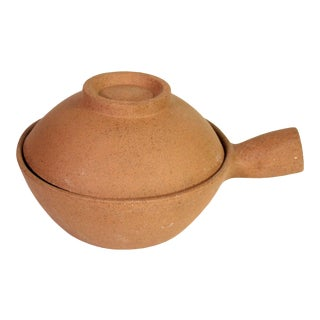 "Rare Signed Bret Bortner Williams-Sonoma ""Asian Clay Pot"" For Sale"