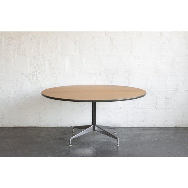 Herman Miller Oak Dining Table - Image 2 of 5