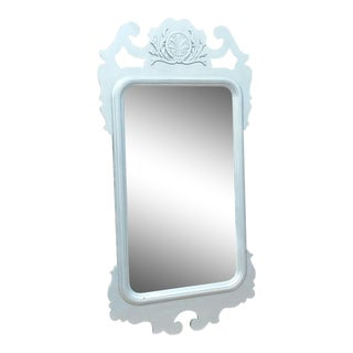 Large Scale Antique Wall Mirror For Sale