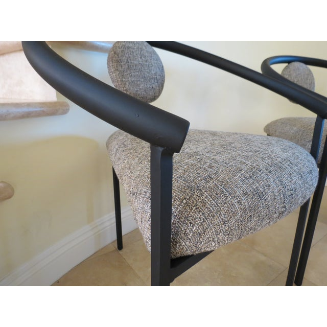 New Completely Restored Memphis Style Chairs - S/3 - Image 6 of 10