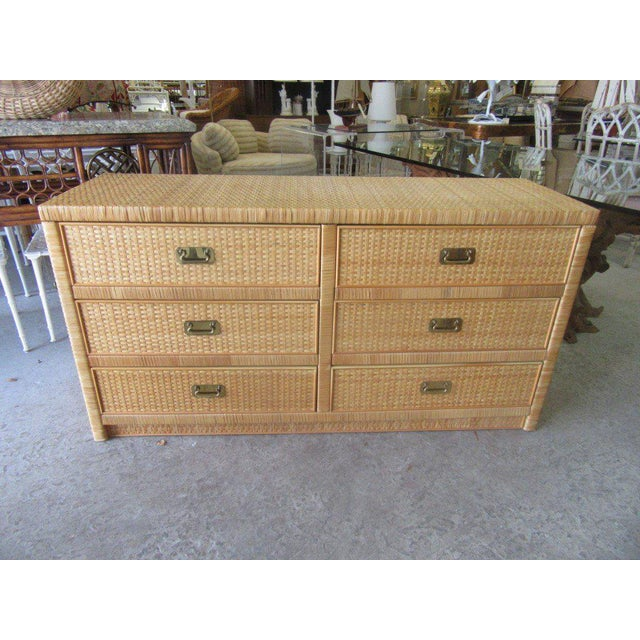 Woven Dixie Island Style Dresser - Image 9 of 9