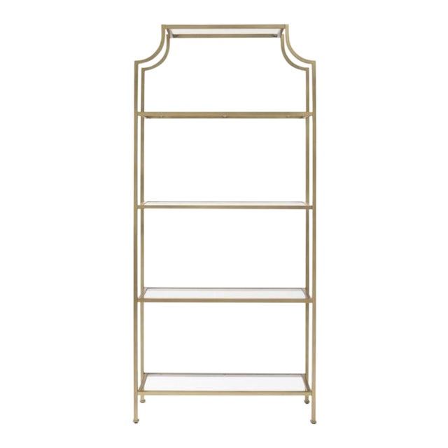 (Mem Day Early) Hollywood Regency Pagoda Etagere **Shipping $99** For Sale - Image 11 of 11
