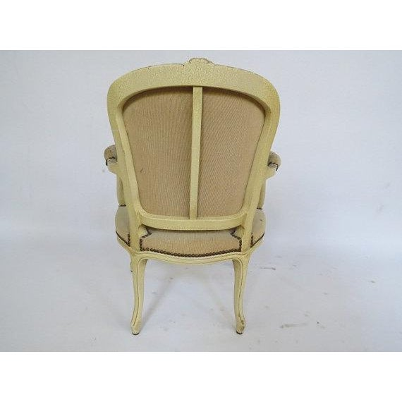 1950's Louis XV Chair For Sale - Image 4 of 9