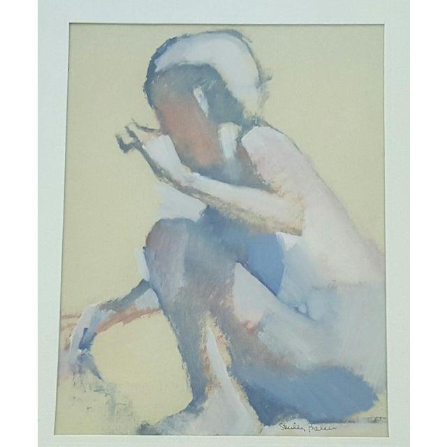 Vintage Original Impressionist Figure Painting - Image 2 of 5