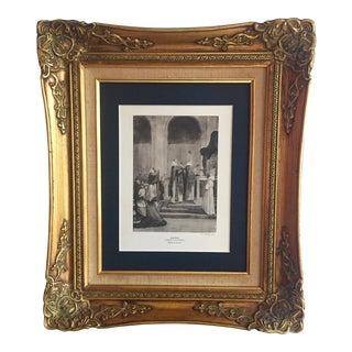 Vintage Anco Bilt Giltwood Frame