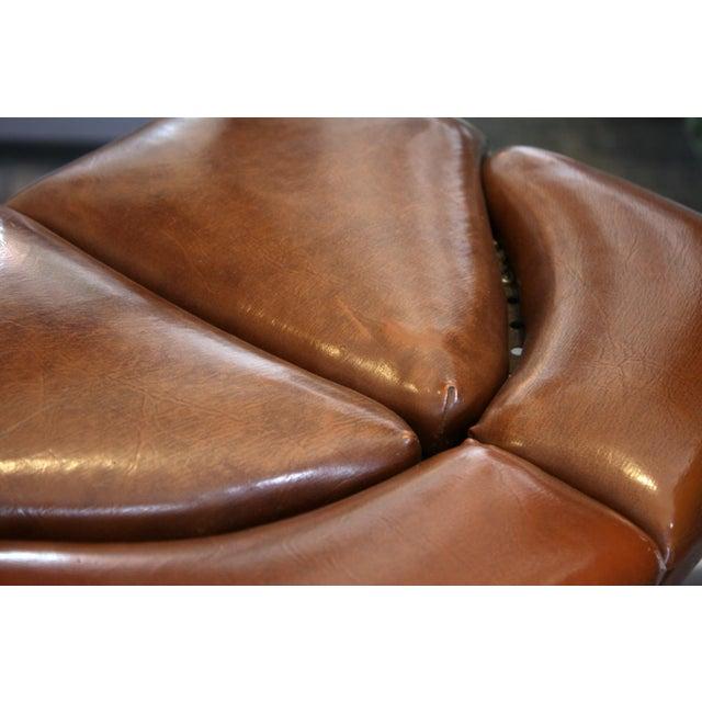 Vintage Brown Task Chair - Image 2 of 7