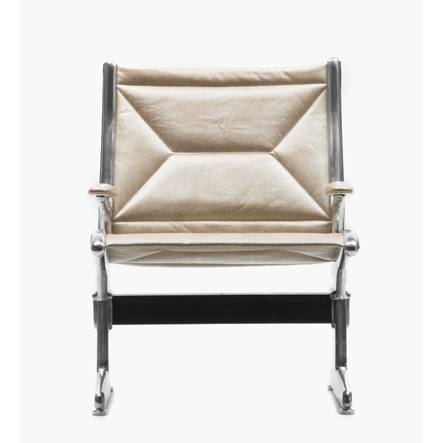Eames for Herman Miller Tandem Sling Airport Chair - Image 4 of 5
