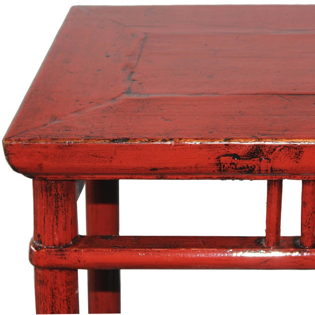 Red Console Table - Image 4 of 5